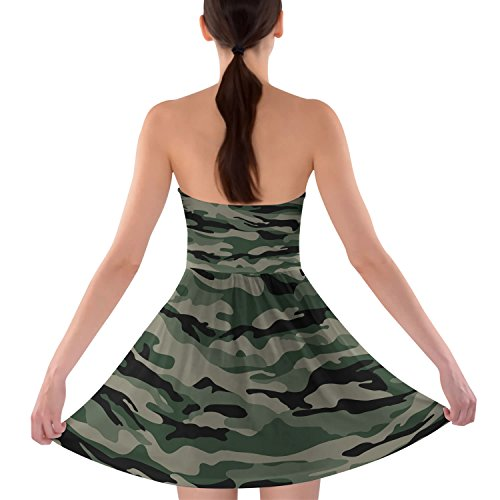 Queen of Cases - Robe - Sans bretelle - Sans Manche - Femme vert vert One Size