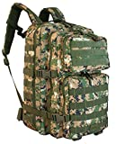 Red Rock Outdoor Gear Assault Pack (One Size, Woodland Digital Camouflage)