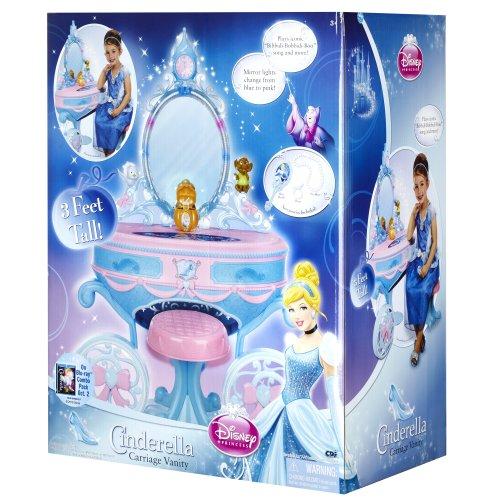 Disney princess cinderella dressing table and stool amazon disney princess cinderella dressing table and stool amazon toys games watchthetrailerfo