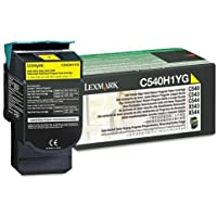 The Great Lexmark Toner, C540H1YG, Yellow, 2,000 pg yield - C540H1YG