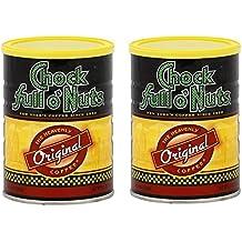 Chock Full O' Nuts Original Ground Coffee 11.3 oz (2 Pack)
