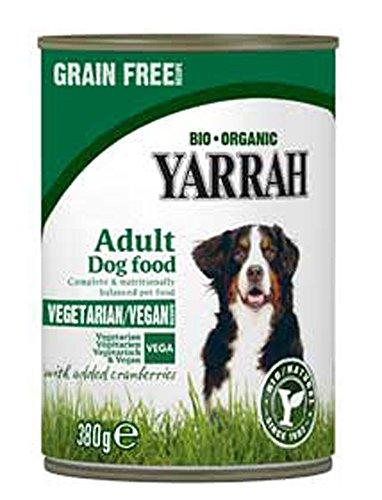 Yarrah VEGA, Getreidefrei mit Cranberries 380g Veganes Bio Hundefutter