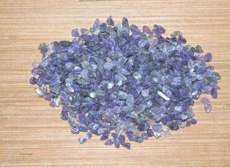 (FASHIONZAADI Natural Amethyst Raw Rough Chips for Gemstone Crystal Stone Energy Rock Supplies Reiki Healing Tumbling Cabbing Polishing Wire Wrapping Rough (1/4 LB) )