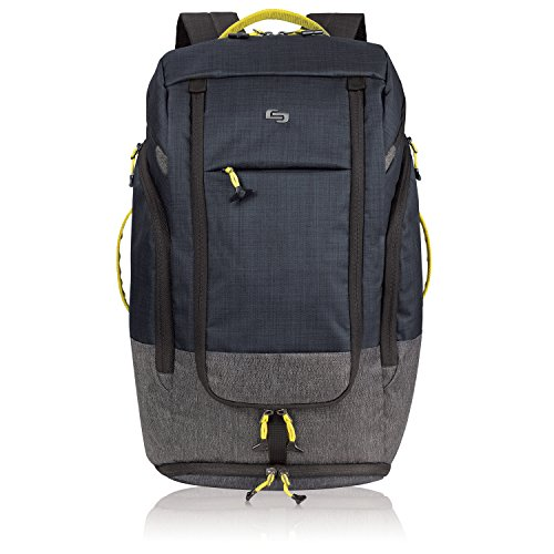 Solo Active Collection Velocity Laptop Backpack Black/Gray ACV732-4