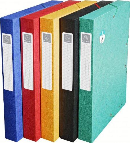 Multicolore 24x32 cm Exacompta 50810E Scatole Archivio