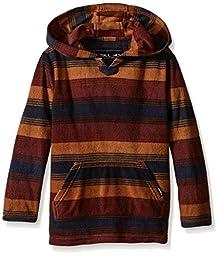 O\'Neill Boys\' Little Boys\' Glacier Pullover, Brick, X-Large
