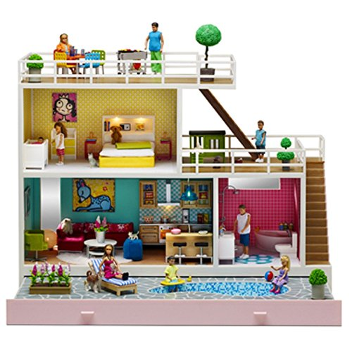 Lundby 1:18 Scale Stockholm Doll's House by Globalgifts