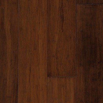 "Premium Green Bamboo 5"" Hand-Scraped Solid in Viper"