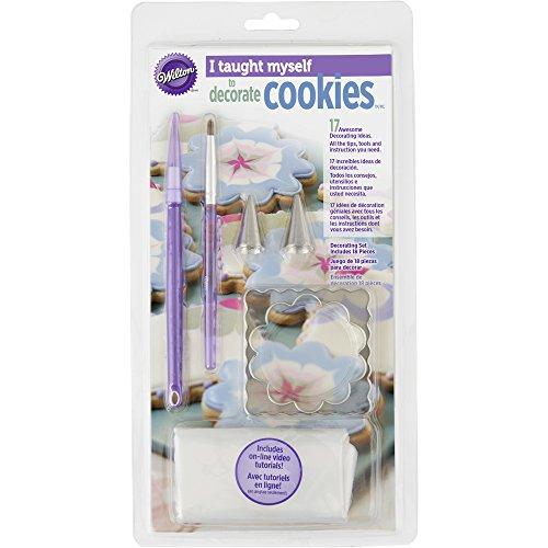 "Wilton 2104-7553 ""I Taught Myself"" Cookie Decorating Book Set"