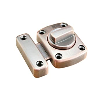 Homyl Shed Door Lock Turn Bolt Catch Latch for Bathroom