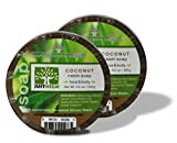neem oil eczema - Neem Soap - Coconut 2-Pack - Face & Body - Glycerin, Coconut Oil & Neem - Relieve Dryness and Maintain Healthy Skin - 4.2 oz