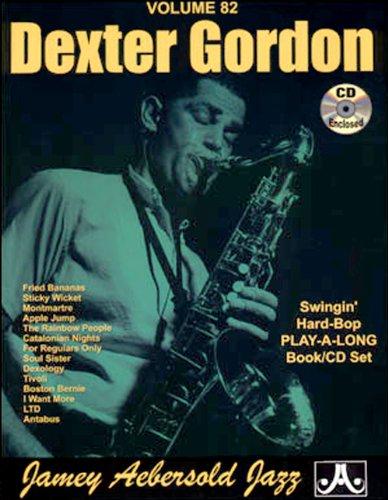 Jamey Aebersold (Vol. 82) Dexter Gordon (Last Midnight Sheet Music)