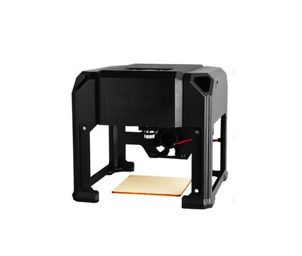 SixDu 3000mw / 1500mw Laser Engraver Printer Carving Size 80x80mm Portable Household High Speed Laser Engraving Cutter USB Machine with Protect Glass for Art Craft Science (1500mw)