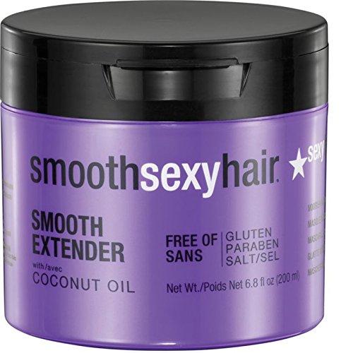 Sexy Hair Smooth Extender Nourishing Smoothing Masque, 6.8 O