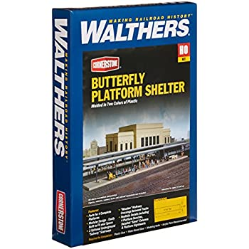 Inc Walthers Station Platform Kit 11-3//4 x 2-1//4 X 2-5//8 29.8 X 5.7 X 6.6cm