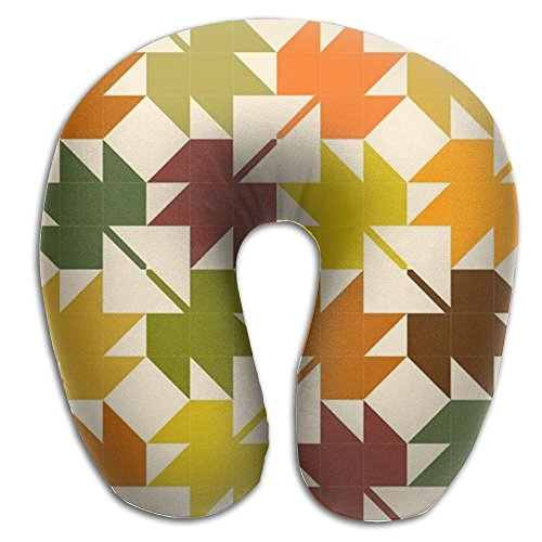 Maple Leaf Memory Foam U Shaped Neck Pillow Comfortable For Help Head Neck Women Travel Washable Cover Therapeutic - Montreal Women Hot