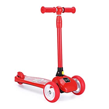 Patinete- Scooter para niños 3 Rondas Plegables Kick Flash ...