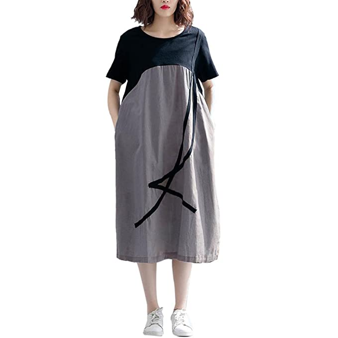 Vestidos de Mujer, vesitdo Verano Vestido Largo,Mujeres Embarazadas de Fiesta para Bodas Camisetas