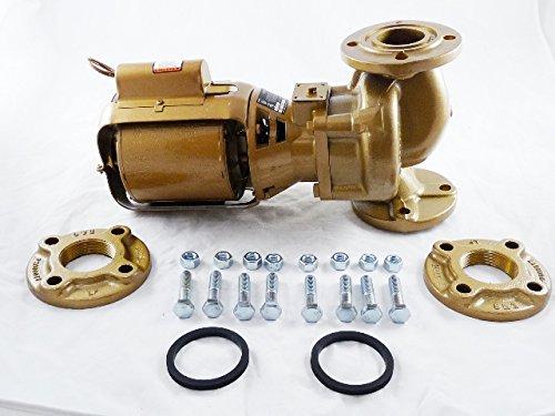 Bell & Gossett 102217LF 2Bnfi Bronze Circulator Pump 115V 1725 rpm, 6.7 '' x  17.2 '' x  11''