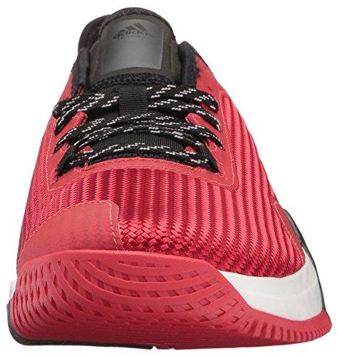 Adidas Performance Heren Crazytrain Elite M Crosstrainer Scarlet / Scarlet / Zwart