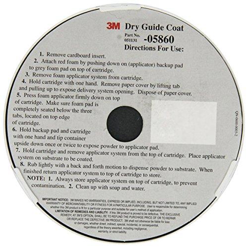 3M 05860 Dry Guide Coat Cartridge - 50 g Dry Guide Coat Cartridge