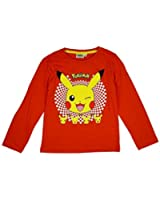fb4d6e322cf Boys Official Pokemon Eevee Evolutions Long Sleeve T-Shirt Top sizes from 4  to 12