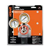 Hobart 770504 CGA-510 Medium Duty Acetylene Regulator and Gauges