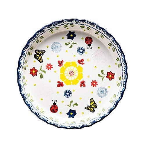 Bandeja de Pizza Bandeja de cerámica Placa Antiadherente ...