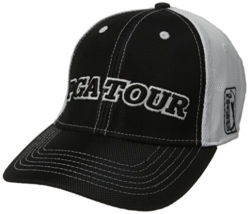 Golf Hat Imperial (Imperial Headwear Men's Stealth, Black/White, One Size)