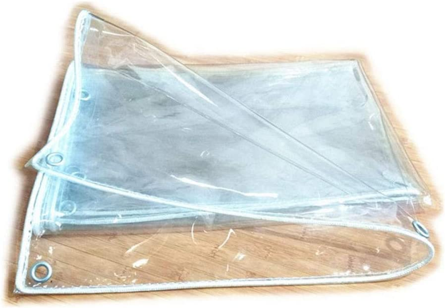 WBXZAL Lonas Impermeable Transparente,Invernadero a Prueba de Lluvia Toldos de Plantas Tela Cubiertas Plástico Exterior Jardín Toldo Aislamiento Térmico A Prueba de Polvo,650g/m²-1 * 2m: Amazon.es: Jardín
