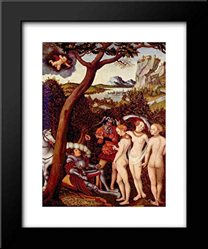 The Judgement of Paris 15x18 Framed Art Print by Lucas Cranach The Elder (The Judgement Of Paris Lucas Cranach The Elder)