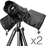 (2 PACK) Altura Photo Professional Rain Cover for DSLR Cameras