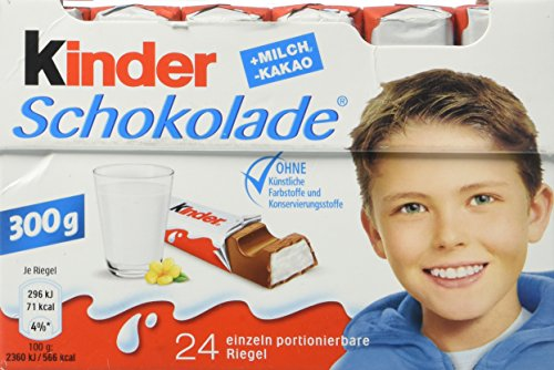 - Ferrero Kinder Chocolate, 24 pieces
