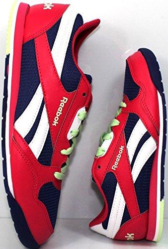 REEBOK Retro Rush V56101 Sneakers Scarpe Ginnastica Donna Bambini dal 27 al 39