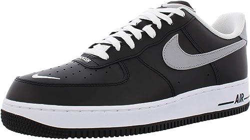 Nike Air Force 1 '07 LV8 4 CJ8731-001 - Zapatillas para Hombre, Color  Negro, Blanco y Gris