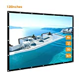 120 inch Portable Projector Screen, GBTIGER 120