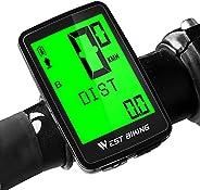 West Biking Bike Speedometer Odometer Wireless USB Rechargeable Bicycle Computer Waterproof 5 Languages LCD Ba