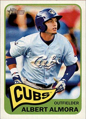 2014 Topps Heritage Minors Baseball Card #80 Albert Almora NM-MT