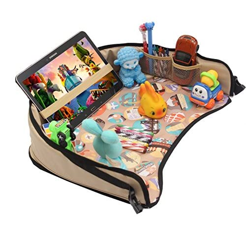 DMoose Toddler Car Seat Travel Tray (16″ x 14″) – Toy Organizer, Tablet Holder, Reinforced Surface, Sturdy Base & Side Walls, Strong Buckles, Crayon Organizer, Mesh Pockets – Waterproof 51Qaf8VRDNL  Home Page 51Qaf8VRDNL