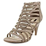 inc international concepts heels - INC International Concepts Womens Geenia Suede Open Toe, Blur Taupe, Size 9.5