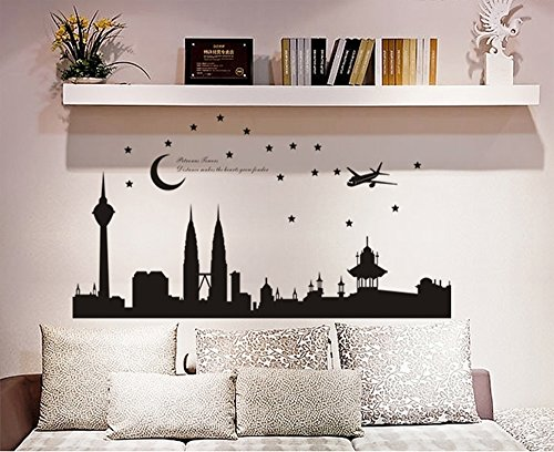 ufengker-famous-cityscape-series-petronas-twin-towers-in-malaysia-wall-decals-living-room-bedroom-re