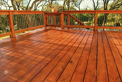 Kilz Exterior Waterproofing Wood Stain Semi Transparent Cedar 1 Gallon Hardware Chemicals