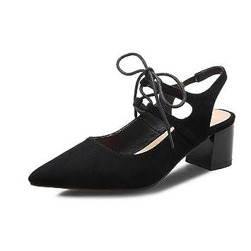 Cuero Verano Mujer Confort Zapatos Otoño Nubuck Primavera De 0NOXP8wkn