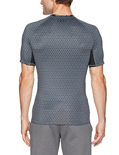 a29f277df11d Under Armour Men s HeatGear Armour Printed Short Sleeve Compression Shirt