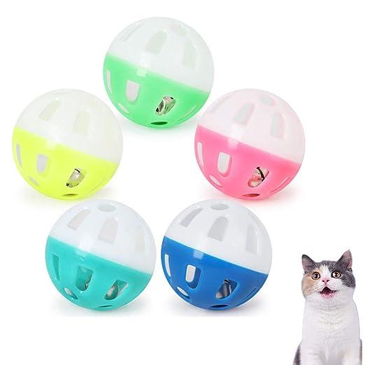 chunnron Juguetes para Gatos Gato de la Bola Pelota de Gatos con ...