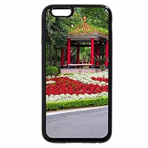 iPhone 6S Plus Case, iPhone 6 Plus Case, Pavilion and flowers