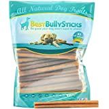 6-inch Supreme Bully Sticks by Best Bully Sticks (25 Pack) All Natural Dog Treats
