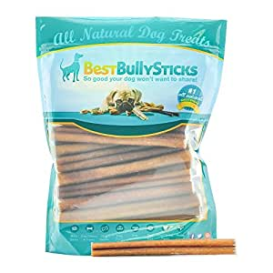 6 inch supreme bully sticks by best bully sticks 25 pack all natural dog treats. Black Bedroom Furniture Sets. Home Design Ideas