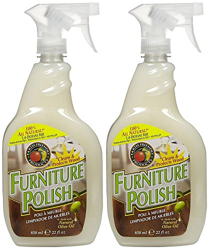 Earth Friendly Products Furniture Polish Spray - 22 oz - 2 - Natural Polish Furniture