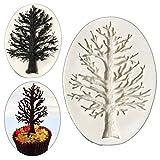 Kyпить UNKE 3D Christmas Tree Branch Silicone Mold Fondant Cake Decorating Mould Baking Tool на Amazon.com